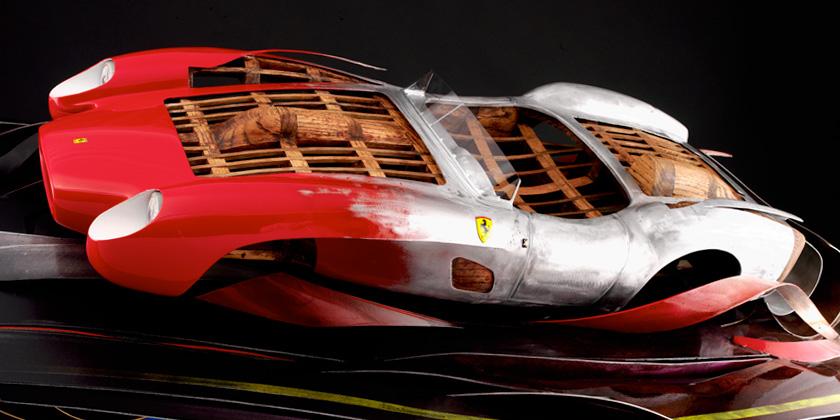 Ferrari 250 TR Automotive Sculpture