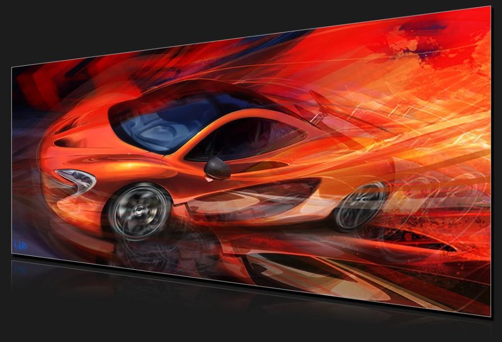 Automotive Art Gallery Image