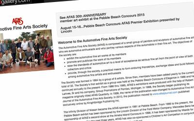 Has the Automotive Fine Art Society Lost Its' Way?