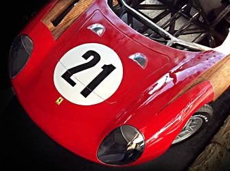 Ferrari 250LM Automotive Sculpture
